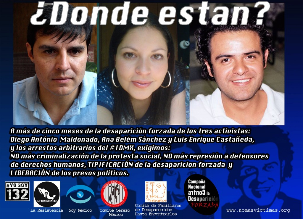 National Campagne Against Forced Disappearance